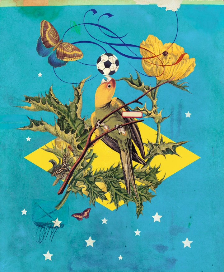 Official 2014 World Cup Artwork